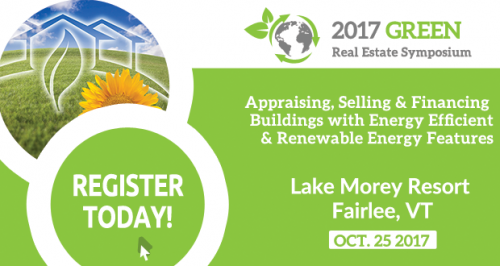 2017 Green Real Estate Symposium poster